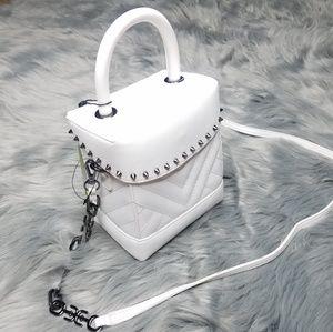 Sam Edelman quilted box crossbody bag